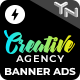 Creative Agency - Animated AMP HTML Banner Ad Templates (GWD, AMPHTML) - CodeCanyon Item for Sale