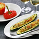 baked vegetarian zucchini boats - PhotoDune Item for Sale