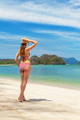 Young attractive woman relax on the sea beach - PhotoDune Item for Sale
