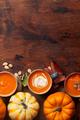 Autumn vegetarian pumpkin cream soup - PhotoDune Item for Sale
