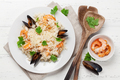 Delicious seafood risotto - PhotoDune Item for Sale