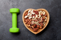 Healthy food concept. Nuts - PhotoDune Item for Sale