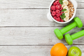 Healthy food and fitness concept - PhotoDune Item for Sale