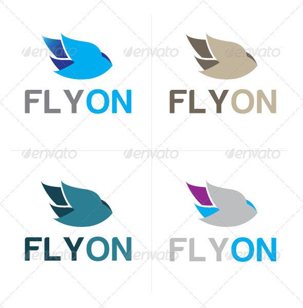 Flyon Logo - Logo Templates