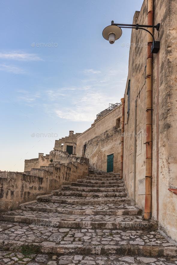 Matera village, Italy - Stock Photo - Images