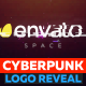Cyberpunk Glitch Logo Reveal - VideoHive Item for Sale