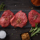 fresh raw beaf steak meat - PhotoDune Item for Sale