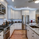 High-end luxury kitchen with granite countertops and white cabin - PhotoDune Item for Sale