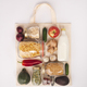 Zero waste shopping concept, flat lay, top view - PhotoDune Item for Sale