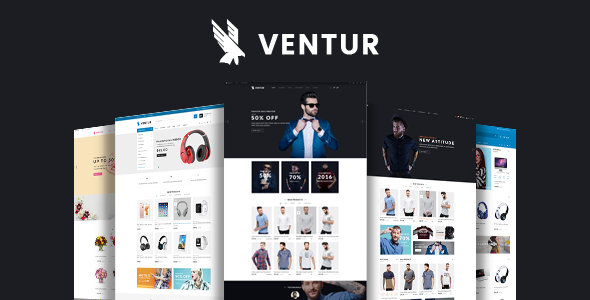 Ventur - Fashion OpenCart Theme (Included Color Swatches)