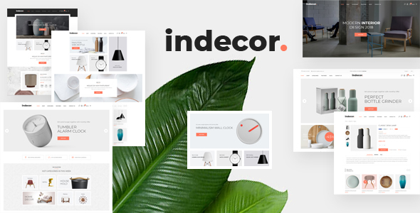 Indecor - Clean & Minimal Opencart Theme