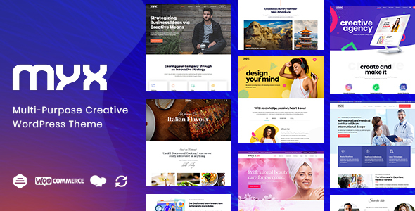 Download Myx – Business Multi-purpose WordPress Theme Free Nulled
