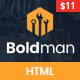 Boldman - Handyman Renovation Services HTML Template