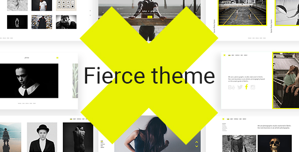 Fierce - Bold Photography Theme