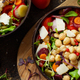 Chickpea salad with vegetables and microgreens - PhotoDune Item for Sale
