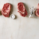 Raw beef steaks - PhotoDune Item for Sale