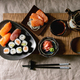 Sushi Set nigiri and sushi rolls - PhotoDune Item for Sale
