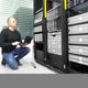 It consultant monitors servers in datacenter - PhotoDune Item for Sale