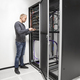 IT consultant building network rack in datacenter - PhotoDune Item for Sale