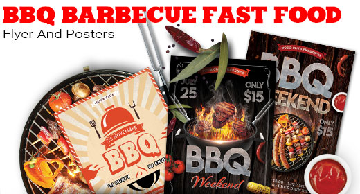 BBQ Barbecue Fast Food