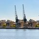 Houses at Royal Victoria Dock in London - PhotoDune Item for Sale