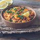 Bowl of chicken and chorizo paella - PhotoDune Item for Sale