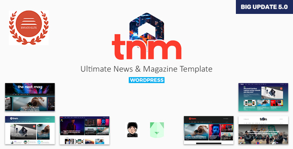 5 4] The Next Mag - Ultimate Magazine WordPress Theme Nulled