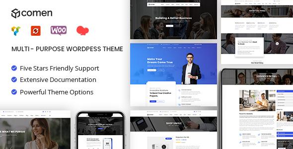 Comen | Multi-purpose Business WordPress Theme