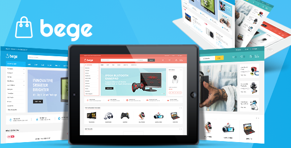 Bege - Responsive Opencart 2.3 & 3.x Theme