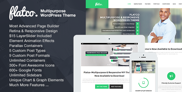 Flatco - Multipurpose & Responsive WordPress Theme
