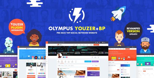 Good Olympus - Powerful BuddyPress Theme for Social Networking