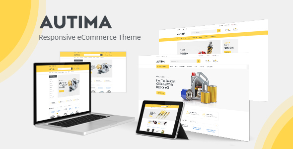 Autima - Accessories Car OpenCart Theme (Included Color Swatches)