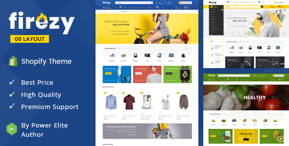 Firezy - Sectioned Multipurpose Shopify Theme