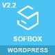 Sofbox - WordPress Software Landing Page - ThemeForest Item for Sale