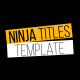Ninja Titles - VideoHive Item for Sale