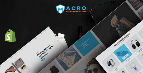 Macro - Ecommerce Multistore Shopify Template