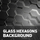 Glass Hexagons Background - VideoHive Item for Sale