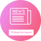 Free Download Blog Posts Layout CSS Showcase Nulled