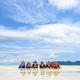 Happy family lying together on the beach, Thailand - PhotoDune Item for Sale