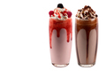 Glasses of various milkshakes - PhotoDune Item for Sale