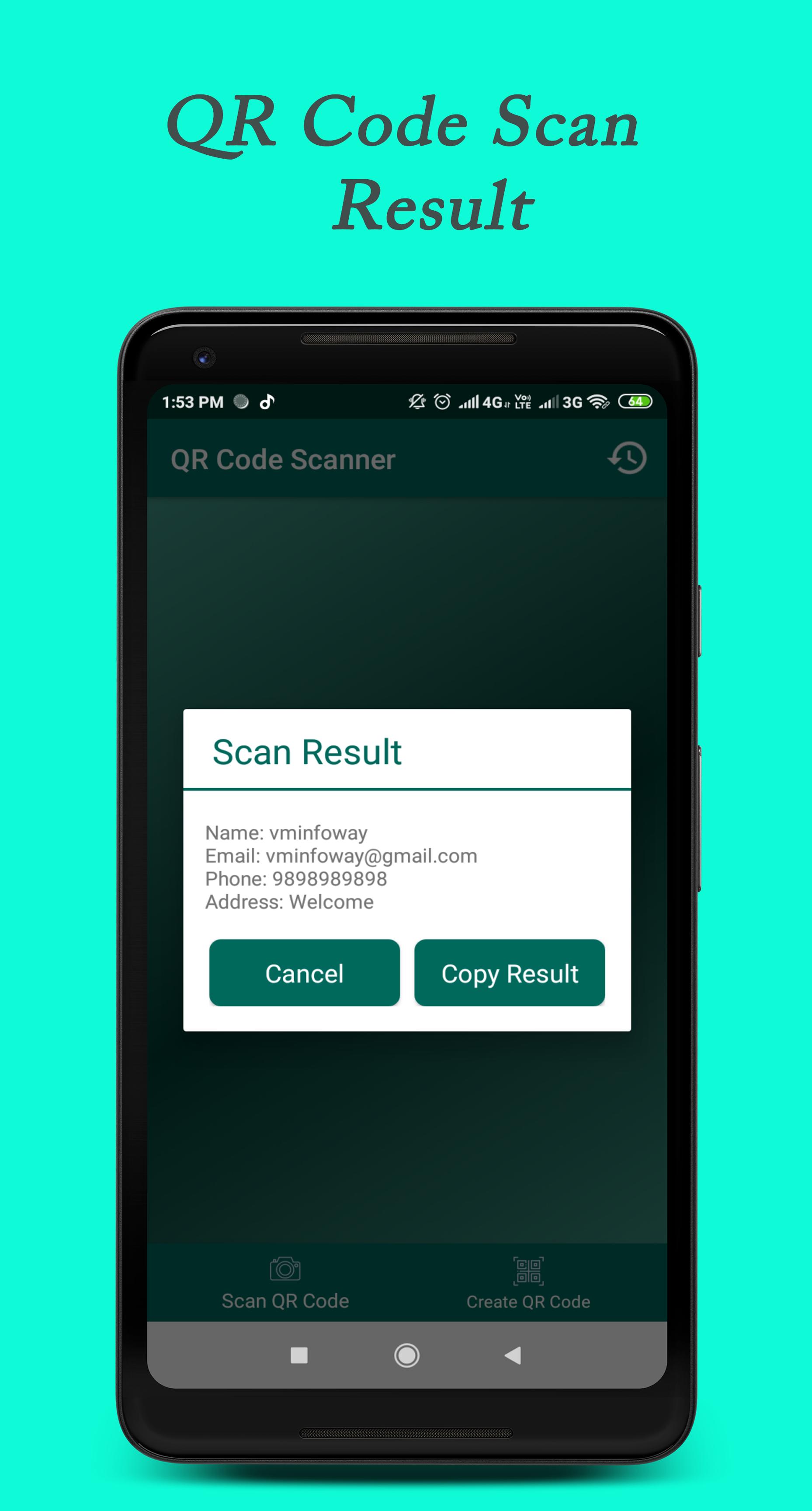 QR Code Scanner-Generator