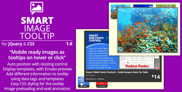 Smart Image Tooltip - jQuery Tooltip Plugin for Images - Preview Image