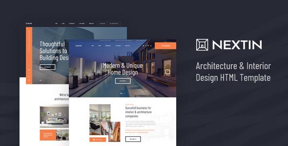 Nextin - Architecture & Interior Design HTML Template