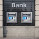 Bank ATM automatic  teller machines for money withdrawing. The s - PhotoDune Item for Sale