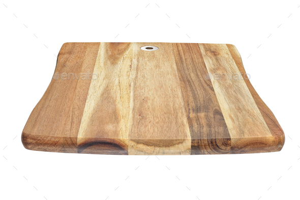 Cutting or chopping board isolated - Stock Photo - Images