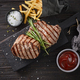 grilled beef steaks - PhotoDune Item for Sale