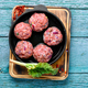 Fresh raw meat balls - PhotoDune Item for Sale