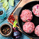 Raw meat balls - PhotoDune Item for Sale