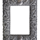 Isolated Ornate Silver Picture Frame - PhotoDune Item for Sale