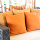 Comfortable pillow on sofa decoration in living room interior - PhotoDune Item for Sale